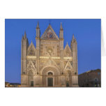 Italy, Umbria, Orvieto, Orvieto Cathedral Card
