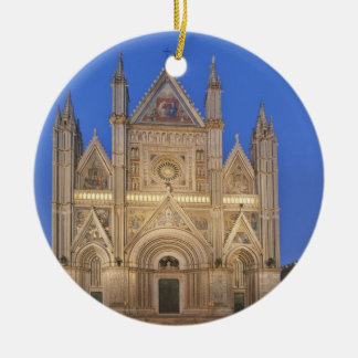 Italy, Umbria, Orvieto, Orvieto Cathedral Ceramic Ornament