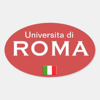 Italy - Universita di Roma* European sticker