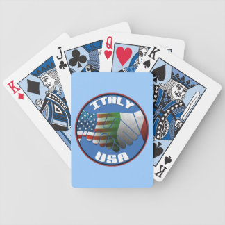 Italy USA Playing Cards