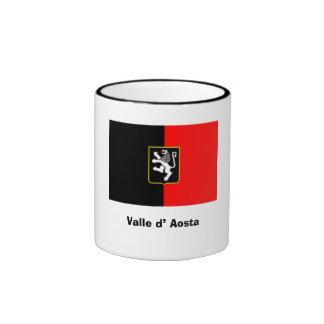 Italy-Valle d' Aosta Ringer Coffee Mug