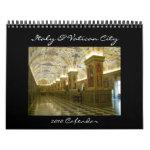 Italy and Vatican 2010 Calendar