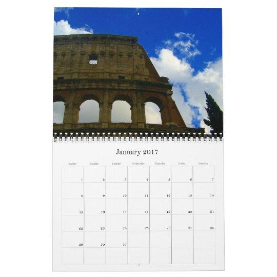 italy & vatican 2013 calendar