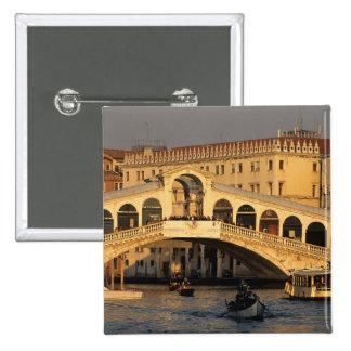 Italy, Veneto, Venice, Canal Grande and Rialto Pin