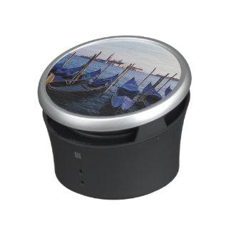 Italy, Veneto, Venice, Row of Gondolas and San Bluetooth Speaker