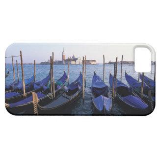 Italy, Veneto, Venice, Row of Gondolas and San iPhone SE/5/5s Case