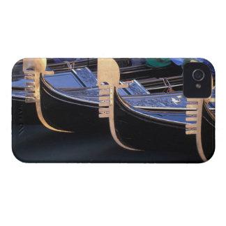Italy, Veneto, Venice. Row of Gondolas. Case-Mate iPhone 4 Case