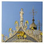 Italy, Veneto, Venice, St. Mark's Basilica Ceramic Tile