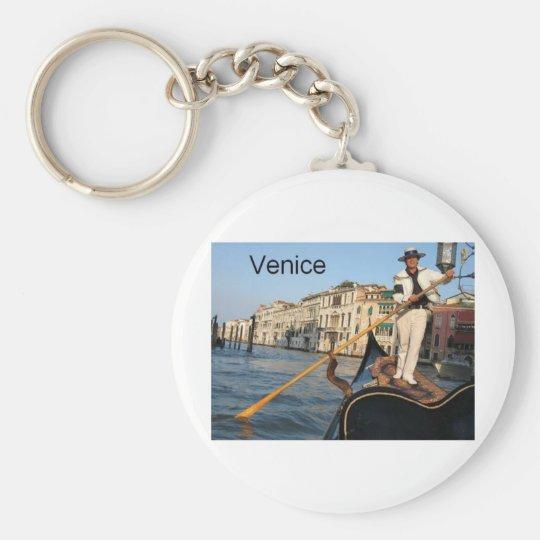 Italy Venice gondola (St.K) Keychain