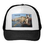 Italy Venice gondola (St.K) Mesh Hats