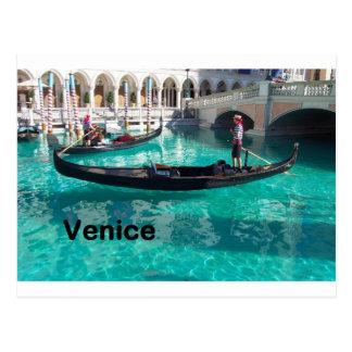 Italy Venice - Gondola! (St.K) Postcard
