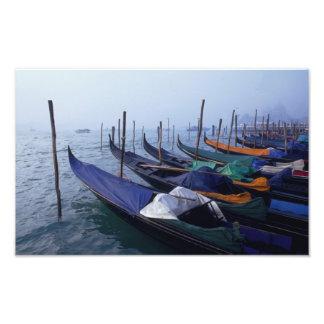 Italy, Venice. Gondolas. Photo Print