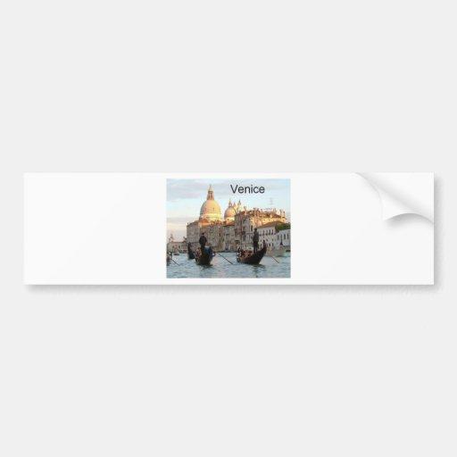 Italy Venice Grand Canal (St.K) Bumper Sticker