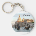 Italy Venice Grand Canal (St.K) Basic Round Button Keychain