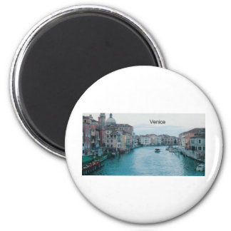 Italy Venice Grand Canal  (St.K) 2 Inch Round Magnet