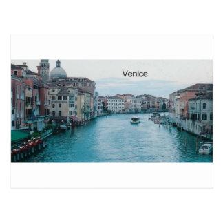 Italy Venice Grand Canal St K Postcard