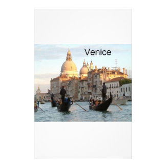 Italy Venice Grand Canal St K Personalized Stationery