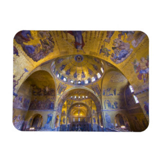 Italy, Venice. Interior of St. Marks Cathedral. Magnet