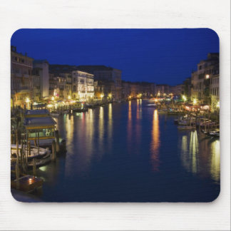 Italy, Venice, Night View Along the Grand 2 Mouse Pad