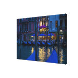 Italy, Venice, Night View Along the Grand Canvas Prints
