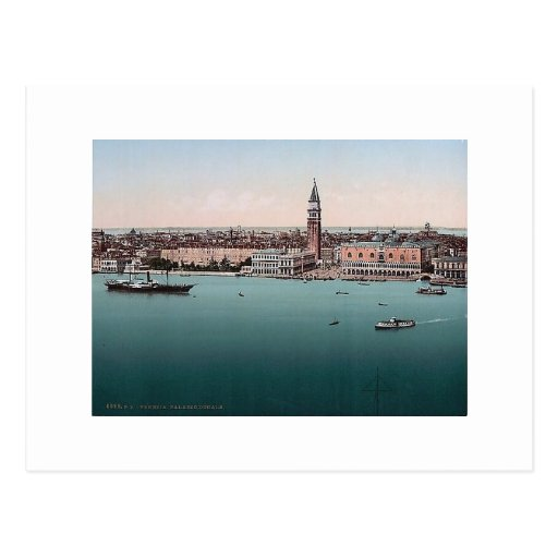 Italy Venice  Palazzo Ducale  1890's Postcard