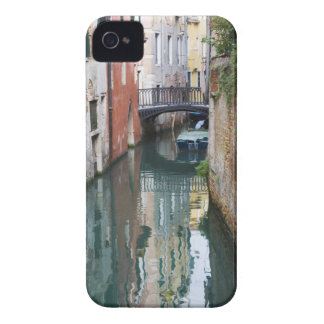Italy, Venice, Reflections and Small Bridge of iPhone 4 Case