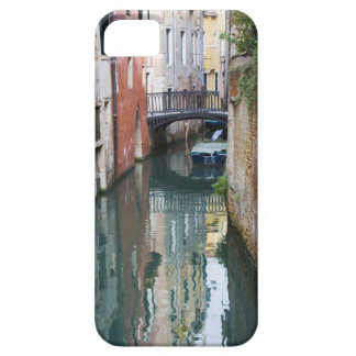 Italy, Venice, Reflections and Small Bridge of iPhone SE/5/5s Case