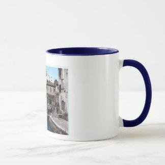 Italy Venice Rio Della Botisella 1890's Mug