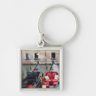 Italy, Venice, Selective Focus of Gondola in the 2 Keychain