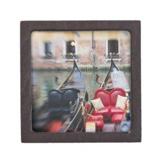 Italy, Venice, Selective Focus of Gondola in the 2 Premium Keepsake Box