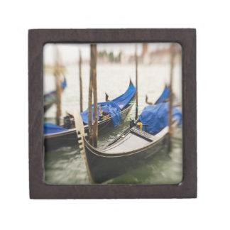 Italy, Venice, Selective Focus of Gondola in the Premium Gift Box
