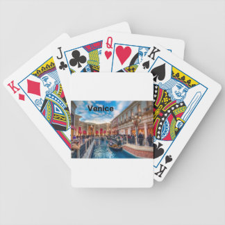Italy Venice (St.K) Bicycle Playing Cards