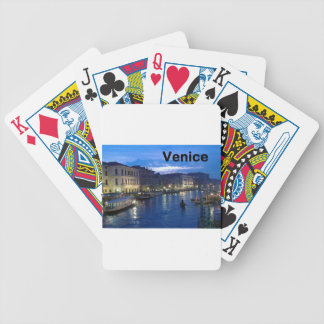 Italy Venice (St.K) Bicycle Poker Cards