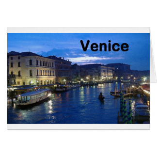 Italy Venice (St.K) Greeting Card