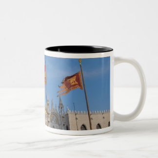 Italy, Venice, St. Mark's Basilica in St. Mark's Two-Tone Coffee Mug
