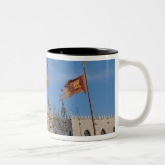 Italy, Venice, St. Mark's Basilica in St. Mark's Two-Tone Coffee Mug