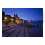 Italy, Verbano-Cusio-Ossola Province, Cannobio. Greeting Card