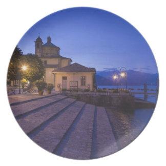 Italy, Verbano-Cusio-Ossola Province, Cannobio. Melamine Plate