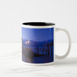 Italy, Verbano-Cusio-Ossola Province, Cannobio. Two-Tone Coffee Mug
