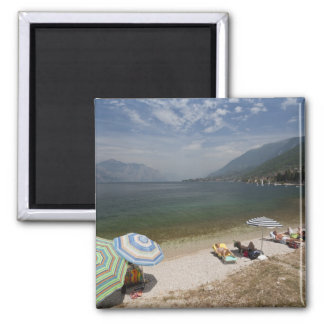 Italy, Verona Province, Brenzone. Lake Garda Magnet