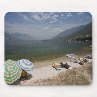 Italy, Verona Province, Brenzone. Lake Garda Mouse Pad