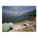 Italy, Verona Province, Brenzone. Lake Garda Postcards