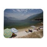 Italy, Verona Province, Brenzone. Lake Garda Vinyl Magnets