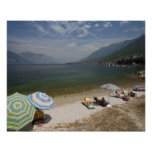 Italy, Verona Province, Brenzone. Lake Garda Print