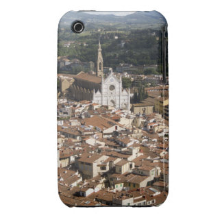 Italy, View of Florence with Church of Santa 2 iPhone 3 Covers