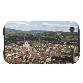Italy, View of Florence with Church of Santa Tough iPhone 3 Case