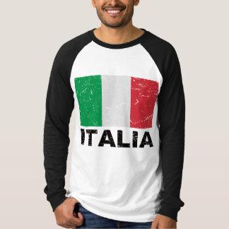 Italy Vintage Flag Shirt