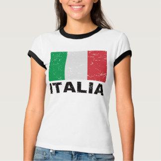 Italy Vintage Flag T-Shirt