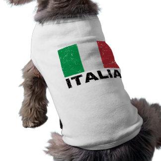 Italy Vintage Flag Tee