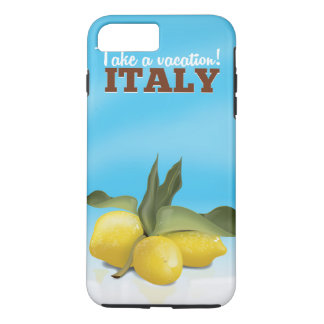 Italy vintage travel poster iPhone 8 plus/7 plus case